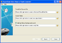 PowerPoint Slide Show to Flash Converter
